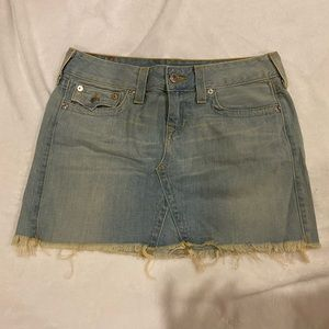 True Religion Jean/Denim Skirt